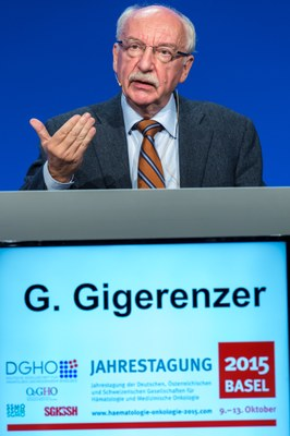 Prof. Gerd Gigerenzer, Festredner