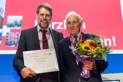Prof. Dr. Mathias Freund & Ehrenmitglied Prof. Dr. Klaus Wilms