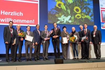 Preisverleihung DGHO und OeGHO und Ehrung der Ehrenmitglieder der DGHO