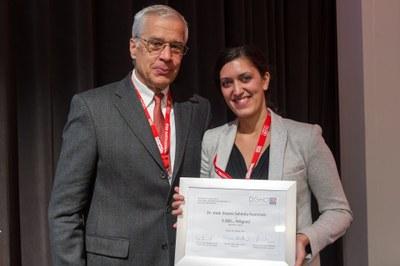Prof. Dr. Martin Wilhelm & 3000. Mitglied Dr. Eleène Sahmila Heshmati